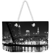 Cleveland Shining Bright Weekender Tote Bag