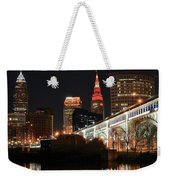 Cleveland Up Close Weekender Tote Bag