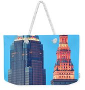 Clevelands Iconic Towers Weekender Tote Bag