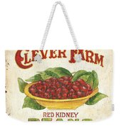 Clever Farms Beans Weekender Tote Bag