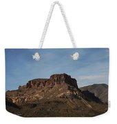 Cliffs Above Apache Lake Weekender Tote Bag
