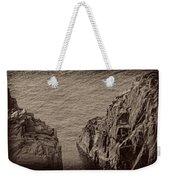 Cliffs At Bonavista Weekender Tote Bag