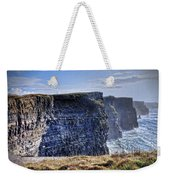 Cliffs Of Moher - Late Afternoon Weekender Tote Bag