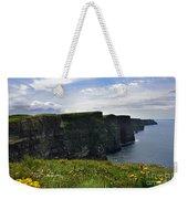 Cliffs Of Moher Looking South Weekender Tote Bag
