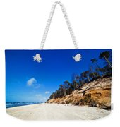 Cliffs On A Sunny Beach Weekender Tote Bag