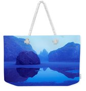 Cliffs On The Coast At Dawn, Meyers Weekender Tote Bag