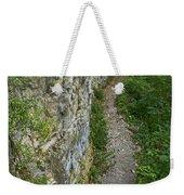 Cliffside Path Weekender Tote Bag