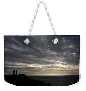 Clifftop Silhouettes Weekender Tote Bag