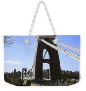 Clifton Suspension Bridge Bristol Weekender Tote Bag