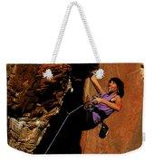 Climber, Red Rocks, Nv Weekender Tote Bag