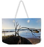 Clinging To The Rocks Weekender Tote Bag