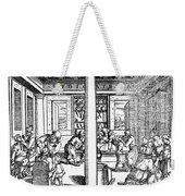 Clinic Scene, 1550 Weekender Tote Bag