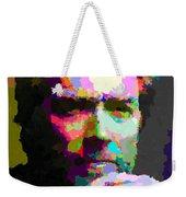 Clint Eastwood - Abstract Weekender Tote Bag