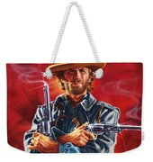 Clint Eastwood Weekender Tote Bag