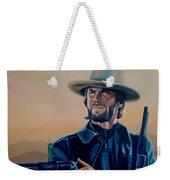 Clint Eastwood Painting Weekender Tote Bag