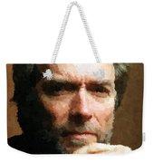 Clint Eastwood Portrait Weekender Tote Bag