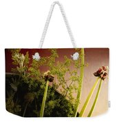 Clipped Stems Weekender Tote Bag