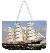 Clipper Ship Three Brothers Weekender Tote Bag
