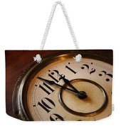 Clock Face Weekender Tote Bag by Johan Swanepoel