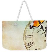 Clock Five To Twelve Weekender Tote Bag