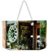 Clock Shop Weekender Tote Bag