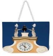 Clock Tower In Bardolino Weekender Tote Bag