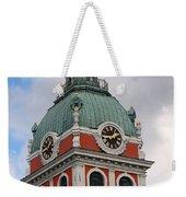 Clock Tower Weekender Tote Bag