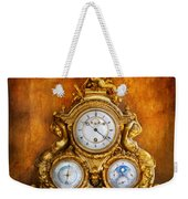 Clockmaker - Anyone Have The Time Weekender Tote Bag by Mike Savad