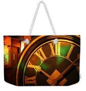 Clocks Weekender Tote Bag by William Selander