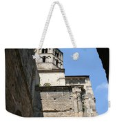 Cloister Cluny Church Steeple Weekender Tote Bag