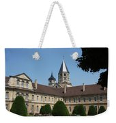 Cloister Cluny Garden View Weekender Tote Bag