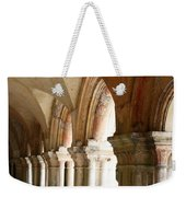 Cloister In Fontenay Abbey, France Weekender Tote Bag