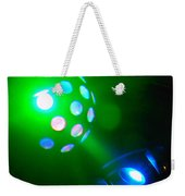Close Contact With A Green Ufo Weekender Tote Bag