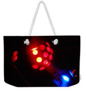 Close Contact With A Red Unidentified Flying Object Weekender Tote Bag
