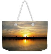 Close Of Day Weekender Tote Bag