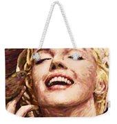 Close Up Beautifully Happy Weekender Tote Bag
