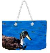 Close Up Duck Weekender Tote Bag