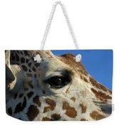 The Giraffe's Eye Weekender Tote Bag