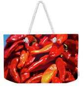 Close-up Of Red Chilies, Taos, New Weekender Tote Bag