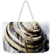 Close Up Of Sea Shell Weekender Tote Bag by Tommytechno Sweden