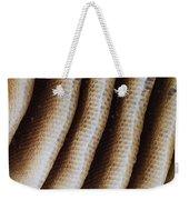 Close-up Of Wild Honey Bee Combs Weekender Tote Bag