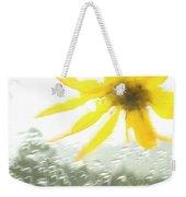 Close-up Of Yellow Wildflower In Grand Weekender Tote Bag