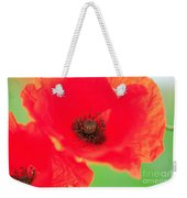 Close Up Poppies Weekender Tote Bag