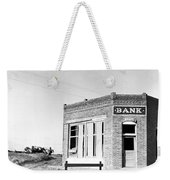 Closed Bank, 1936 Weekender Tote Bag