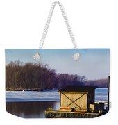 Closed For The Season Weekender Tote Bag by Christi Kraft