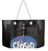 Closed Sleep Tight Weekender Tote Bag