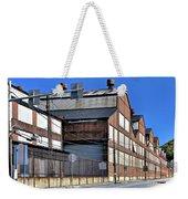 Closed Steel Mill Weekender Tote Bag