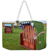 Closed Sunchairs Weekender Tote Bag