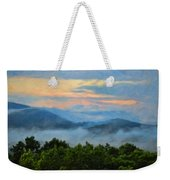 Closer To Heaven In The Blue Ridge Mountains Weekender Tote Bag