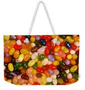 Closeup Of Assorted Jellybeans  Weekender Tote Bag